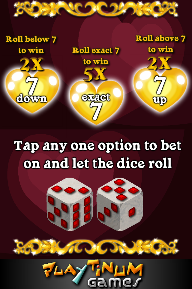 Screenshot Loving Hearts Slots – Valentine's Day